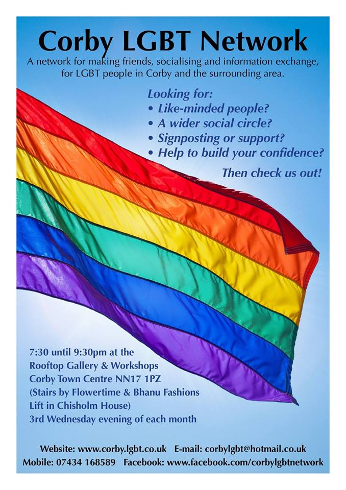 LGBT Social Group in Corby