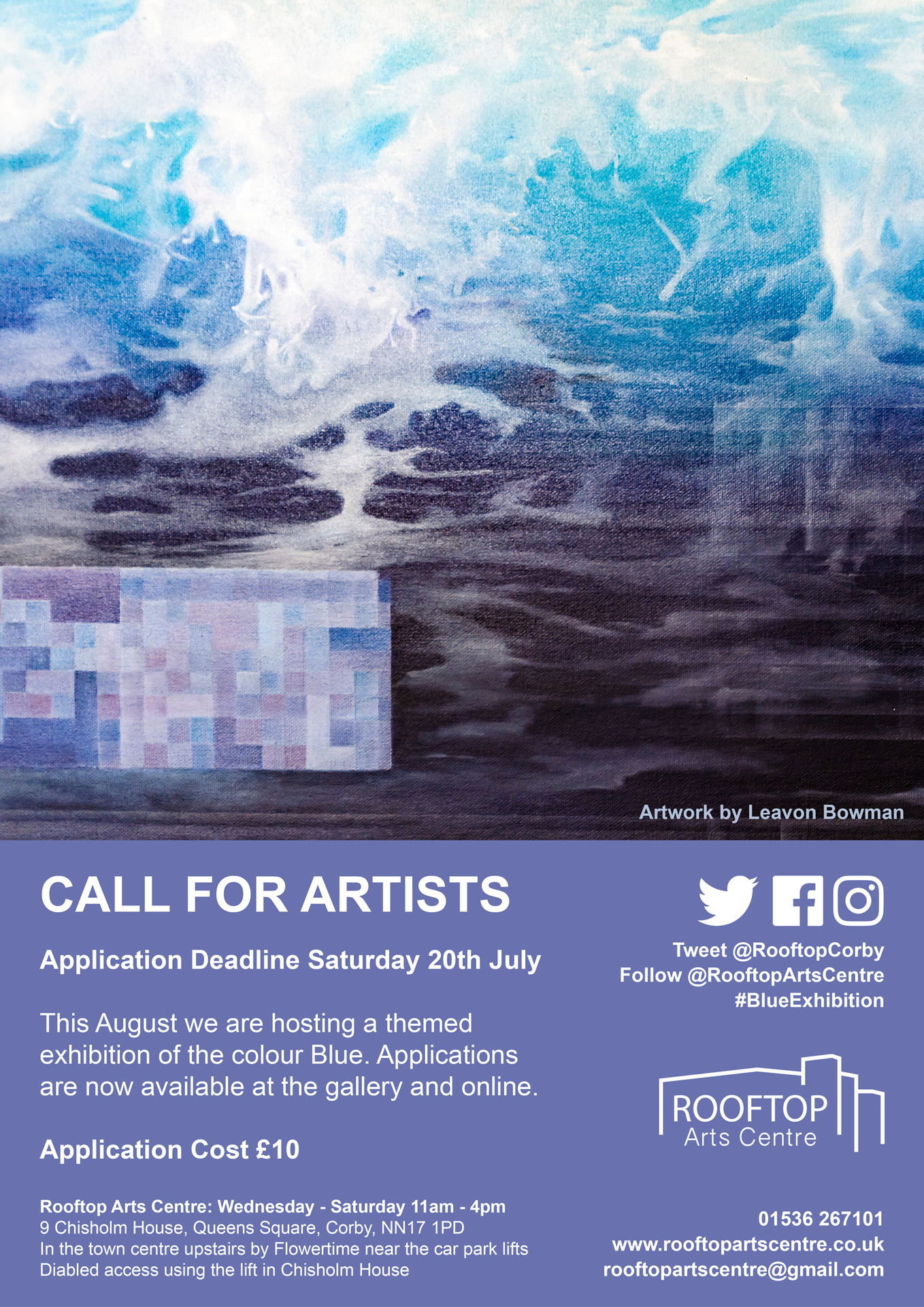 Blue-Application-Poster-Rooftop-Arts-Centre