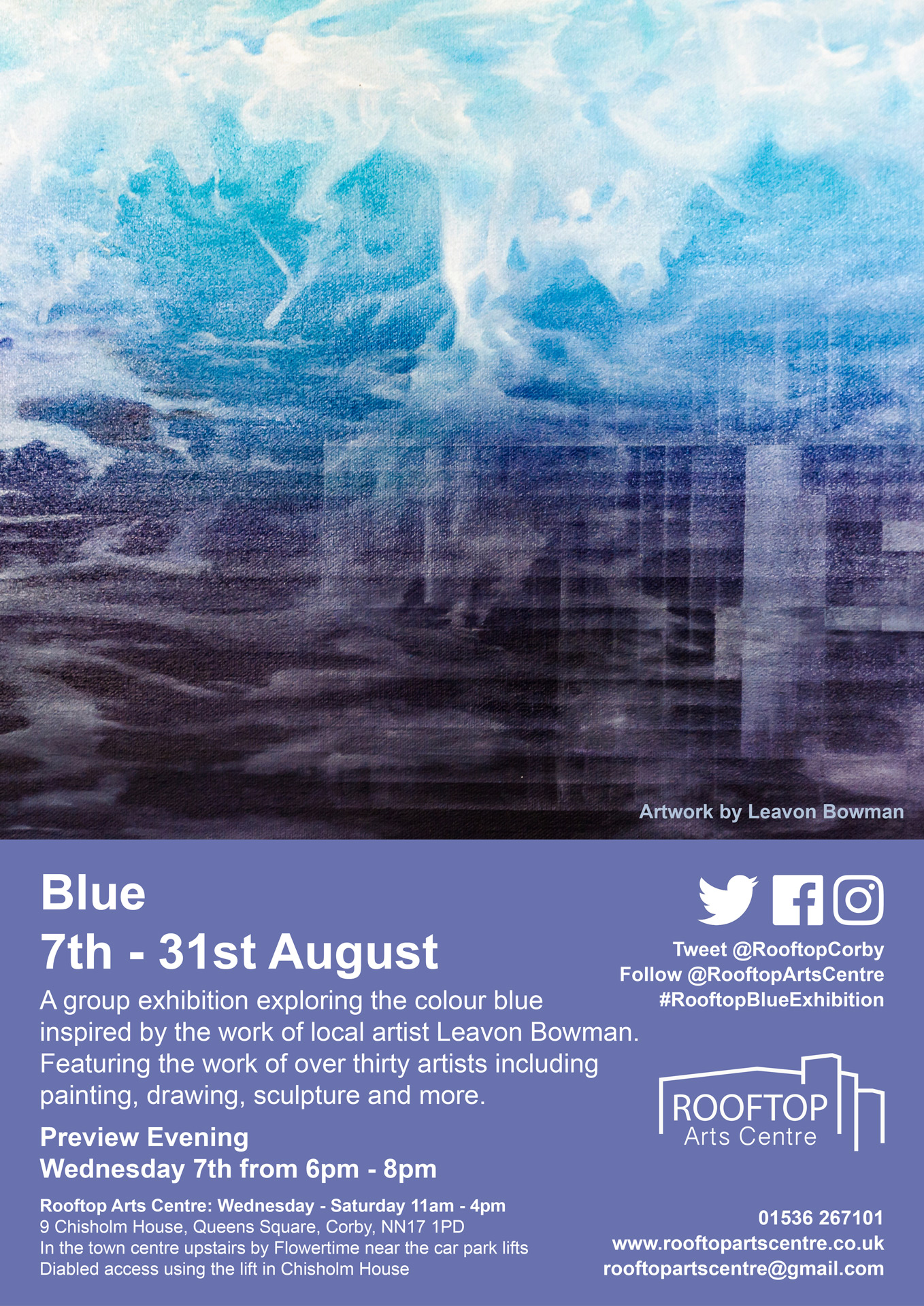 Blue-Exhibition-Poster