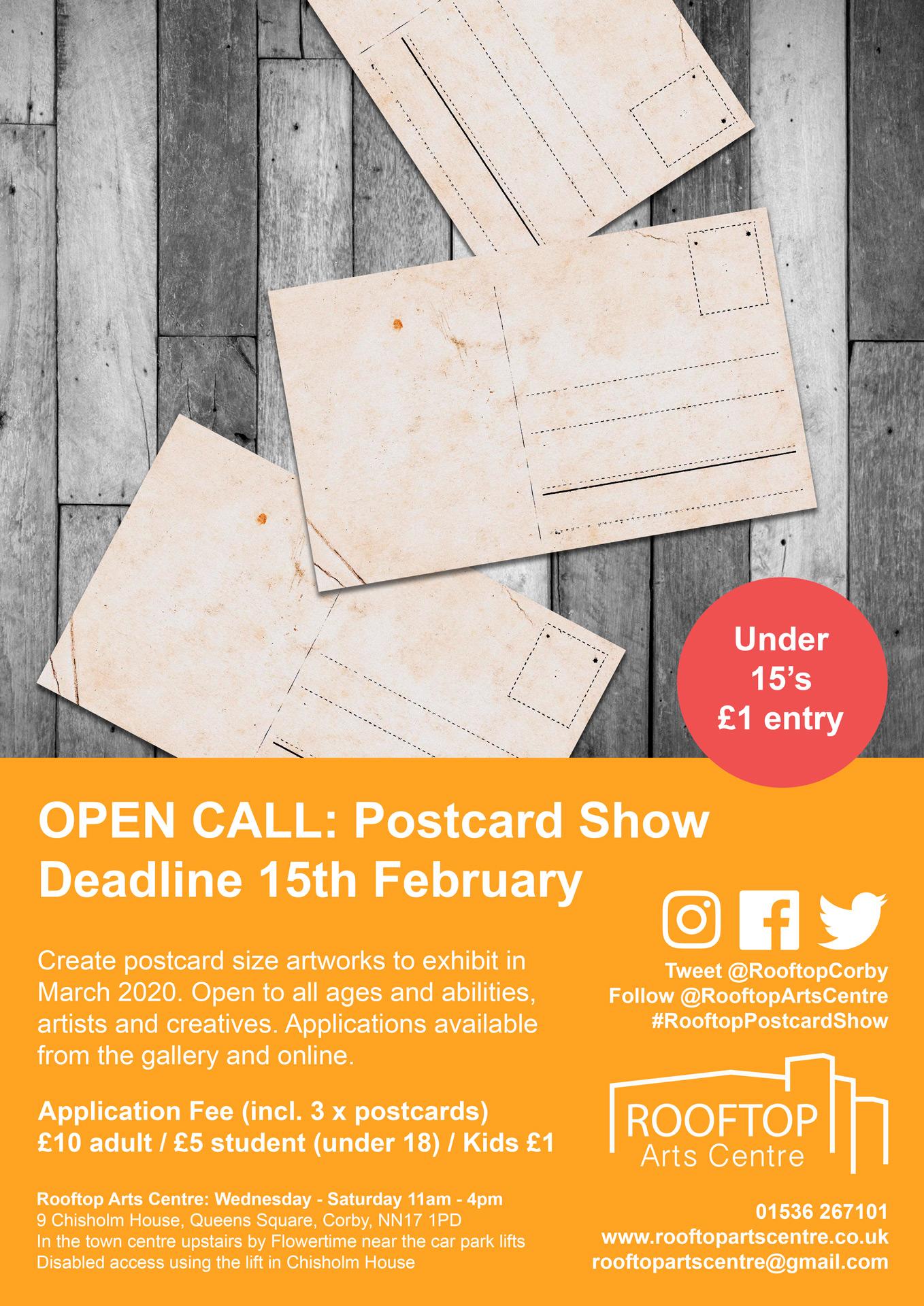 Postcard-Show-Applicaiton-Poster