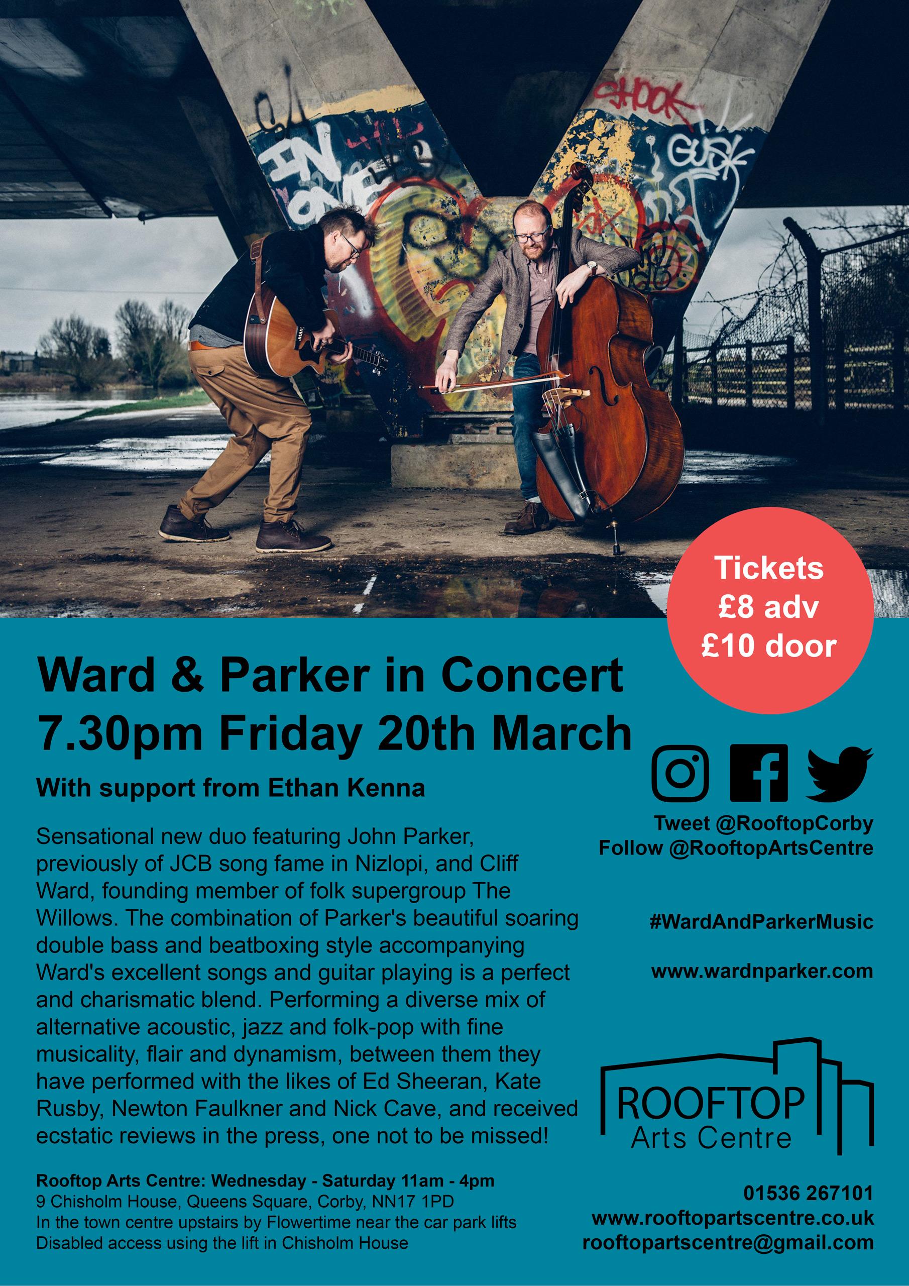 Ward-&-Parker-Poster-Rooftop-Arts-Centre